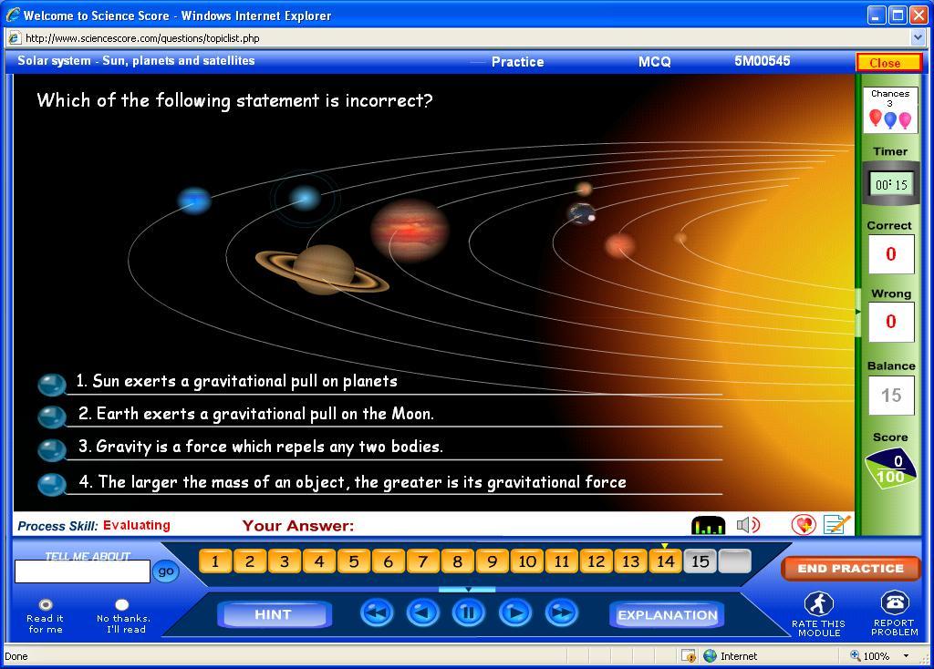 7th grade solar system lessons